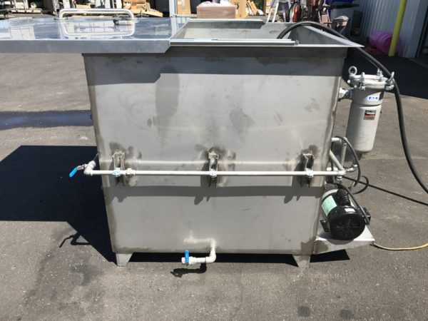 Dip Tank Parts Washer for Finishing Systems